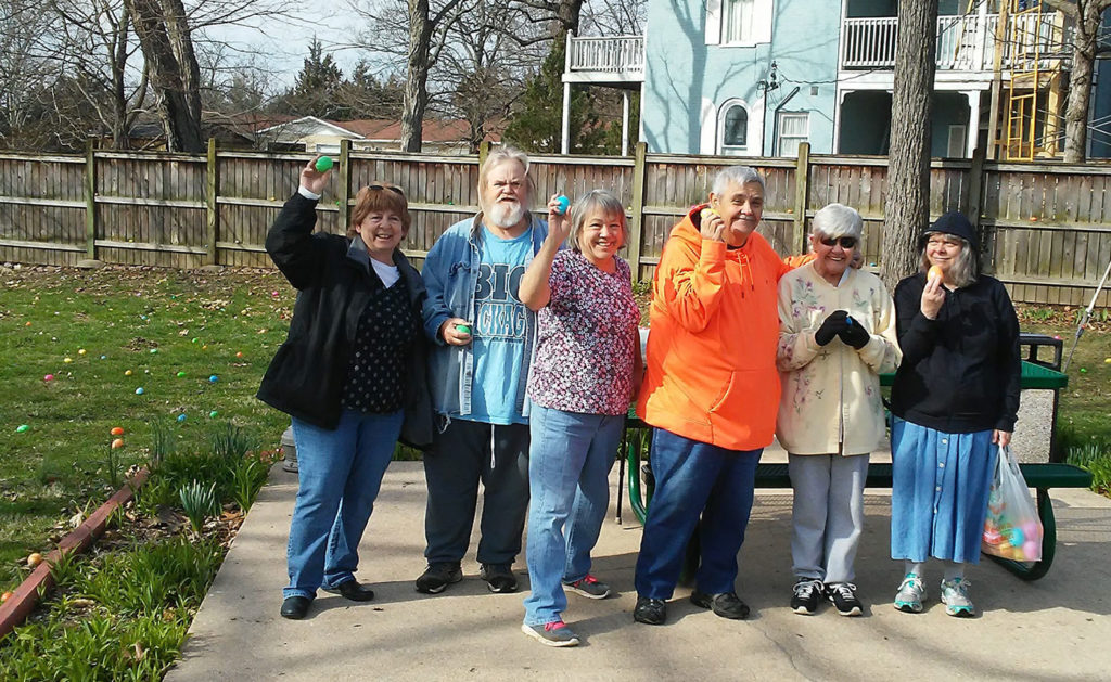 In conjunction with the local Ironton County Head Start program, Ironton Estates, a Fairway Management senior community located in Ironton, Missouri, hosted their eighth annual Easter Egg Hunt.